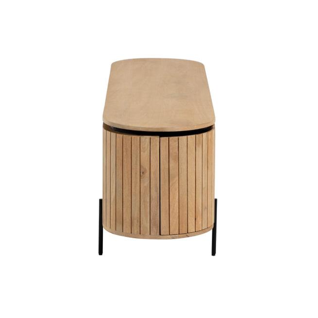 Kave Home TV-meubel 'Licia' Mangohout, 160cm