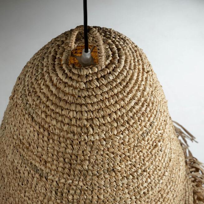 Kave Home Hanglamp  'Shianne', kleur Naturel