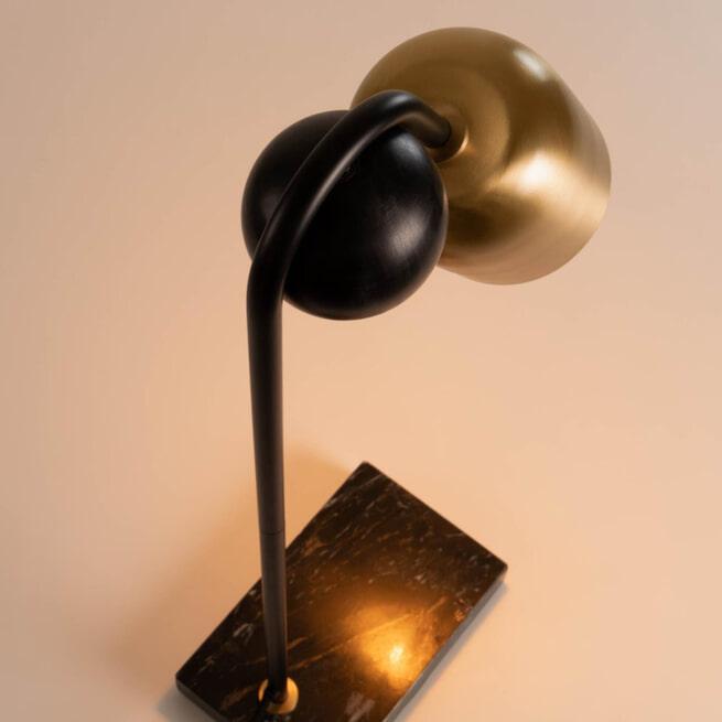 Kave Home Tafellamp 'Natsumi', kleur Koper