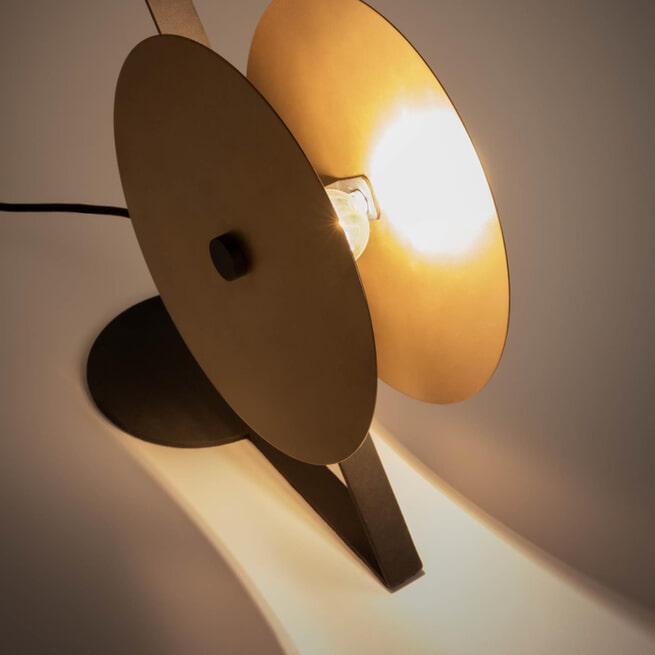 Kave Home Tafellamp 'Namine', kleur Koper