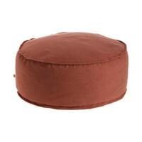 Kave Home Poef 'Maelina' 70cm, kleur Terracotta