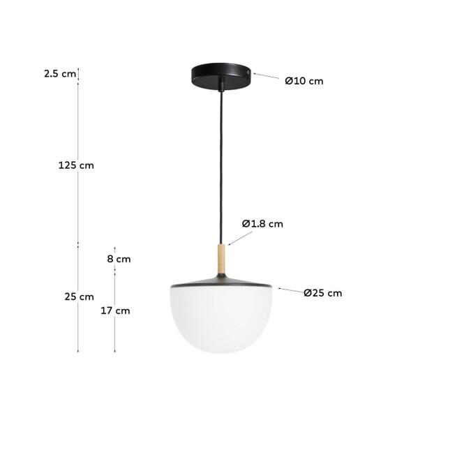 Kave Home Hanglamp 'Neda'