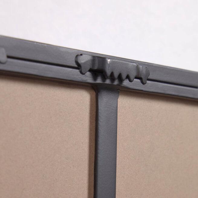 Kave Home Spiegel 'Vianela', 63 x 82cm, kleur Zwart