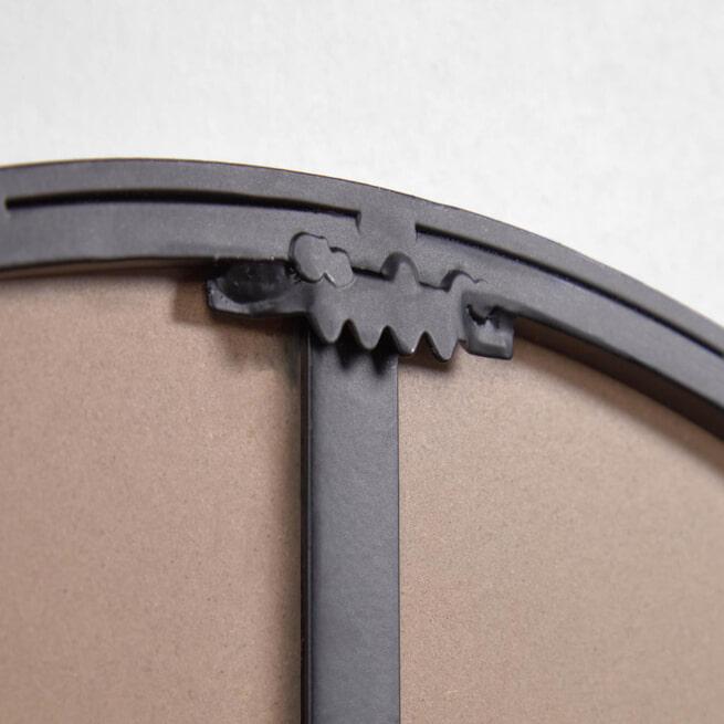 Kave Home Spiegel 'Vianela', 51 x 70cm, kleur Zwart
