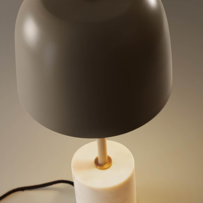 Kave Home Tafellamp 'Alish', kleur Beige