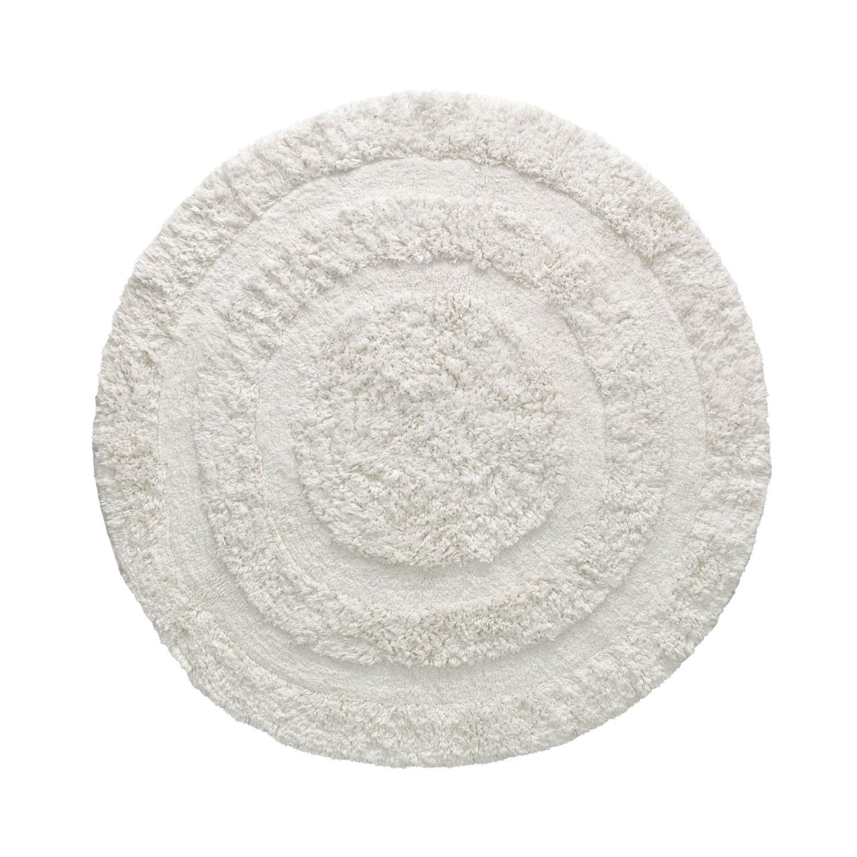 Kave Home Vloerkleed 'Eligia' 120cm, kleur Wit