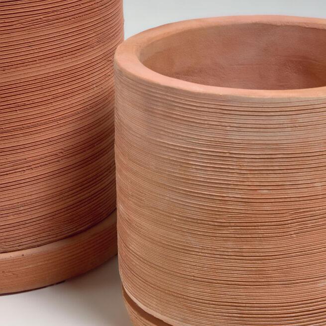Kave Home Pot 'Karlina' set van 2 stuks