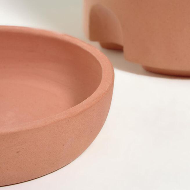 Kave Home Pot 'Luigina' met zelfwatersysteem