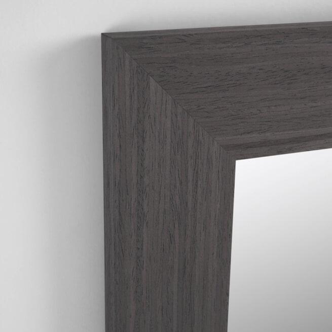 Kave Home Spiegel 'Yvaine', 180.5 x 80.5cm, kleur Bruin