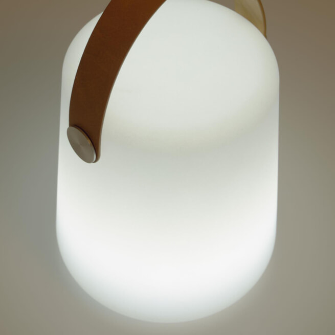 Kave Home Tafellamp 'Dialma' kleur Wit