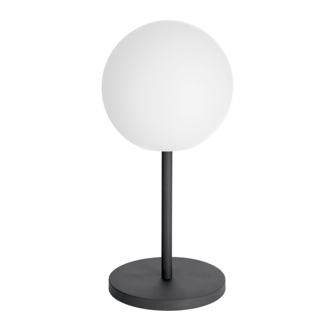 Kave Home Tafellamp 'Dinesh' met poot, kleur Wit