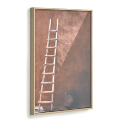 Kave Home Wandpaneel 'Lucie' ladder, 70 x 50cm