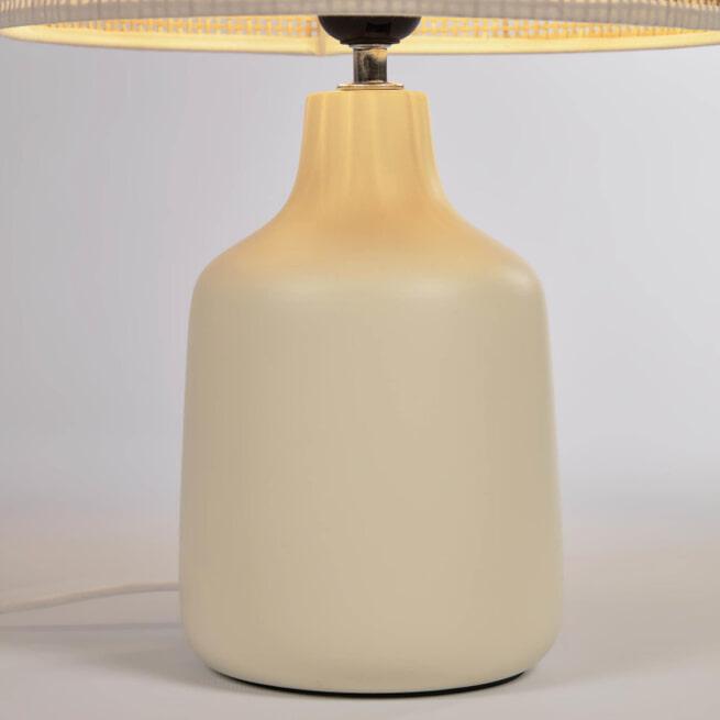Kave Home Tafellamp 'Erna' Bamboe