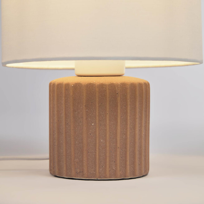 Kave Home Tafellamp 'Eshe' Keramiek