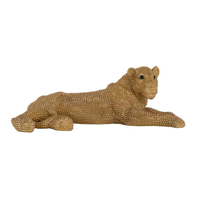 Richmond Decoratie 'Lion' kleur Goud