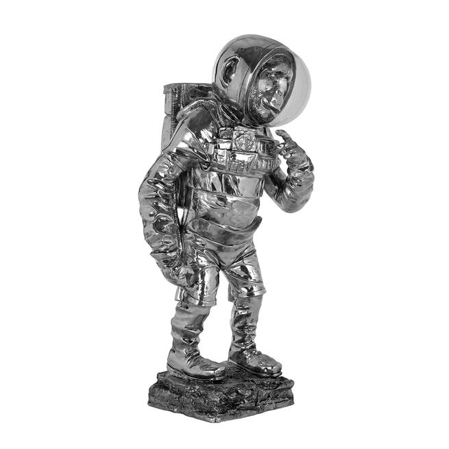Richmond Decoratie 'Space Monkey' kleur Zilver