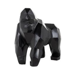 Richmond Decoratie 'Gorilla Koko' kleur zwart