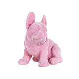 Richmond Decoratie 'Dog' kleur Roze