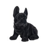 Richmond Decoratie 'Dog' kleur Zwart