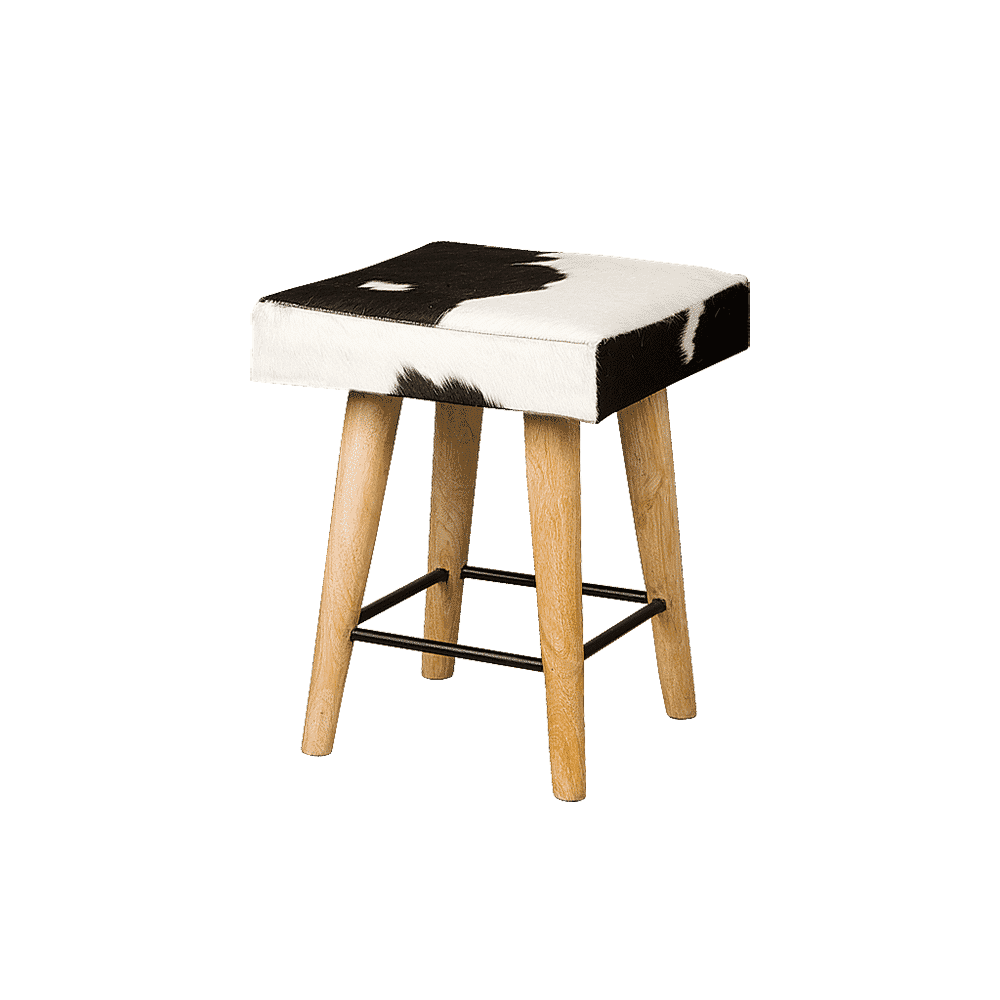RENEW Krukje 'Leon', 45cm, kleur Zwart/Wit