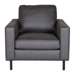 LABEL51 Fauteuil, 'Genua', kleur Antraciet