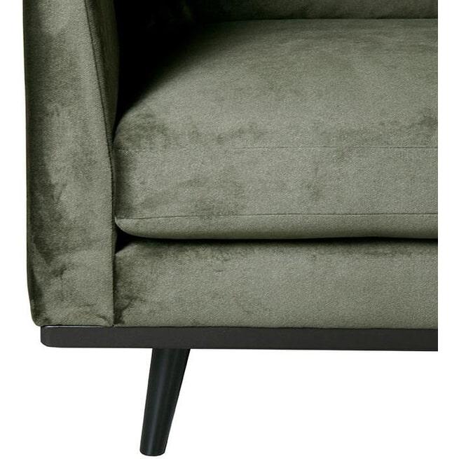 LABEL51 3-zits Bank 'Siena' Velvet, kleur Groen