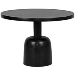 LABEL51 Bijzettafel 'Wink' 50cm, kleur Zwart