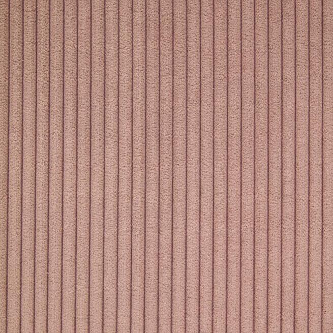 Kave Home Eetkamerstoel 'Runnie', Rib, kleur Roze
