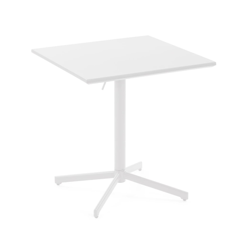 kavehome Kave Home Eettafel 'Alyssia', 70cm, kleur Wit
