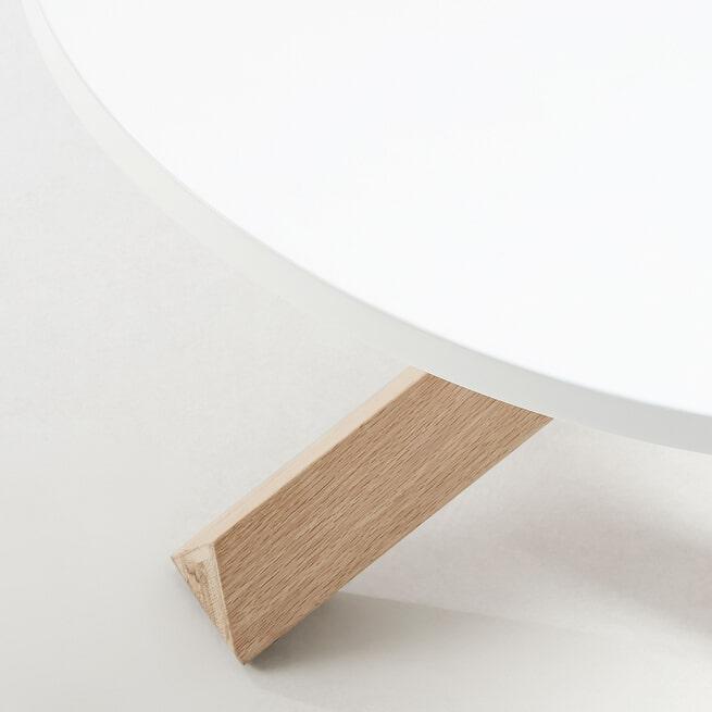 Kave Home Salontafel 'Lotus' 65cm, kleur Wit