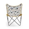 Kave Home Vlinderstoel 'Fly' kleur Mosterdgeel