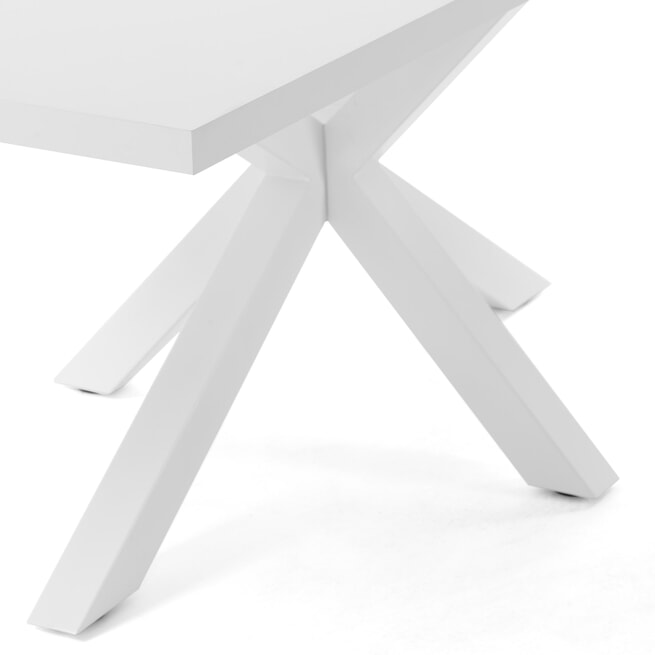 Kave Home Eettafel 'Argo' 160 x 100cm, kleur Wit