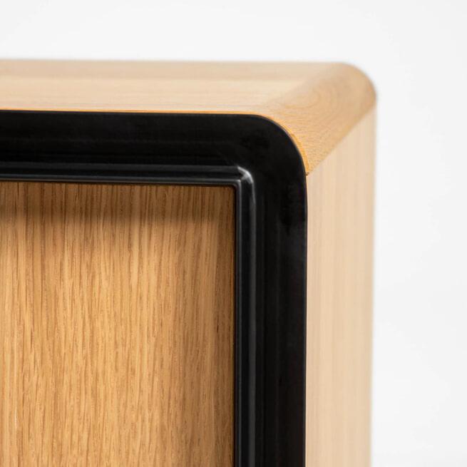 Kave Home TV-meubel 'Nadyria' Eiken, 180cm