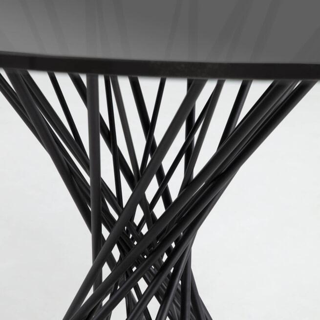 Kave Home Ronde Eettafel 'Niut' 120cm, Glas