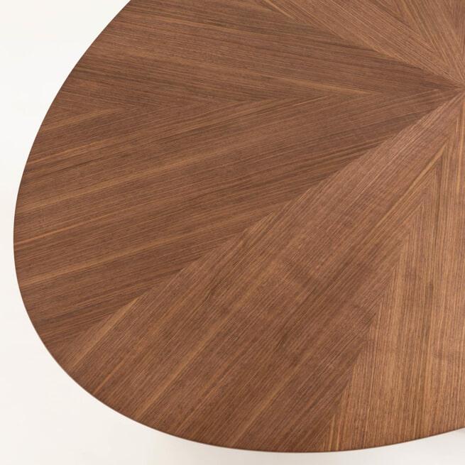Kave Home Ovale Eettafel 'Naanim' 180 x 110cm