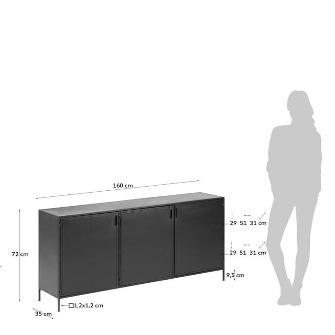 Kave Home Dressoir 'Shantay' 160cm