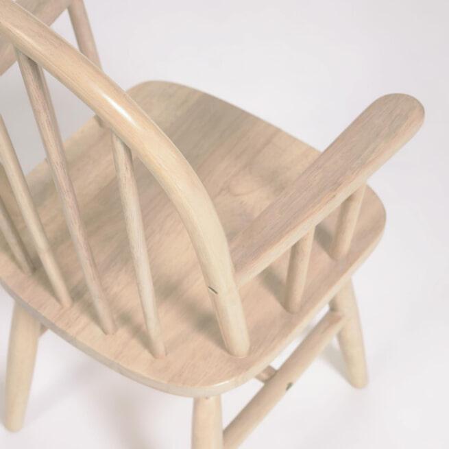 Kave Home Kinderstoel 'Daisa' kleur Naturel