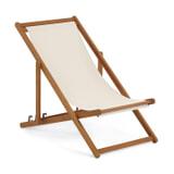 Kave Home Inklapbare stoel 'Adredna', kleur Beige
