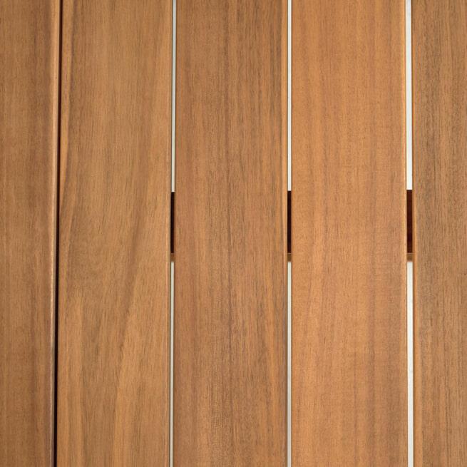 Kave Home Ronde Tuintafel 'Dafne' 120cm, kleur Naturel