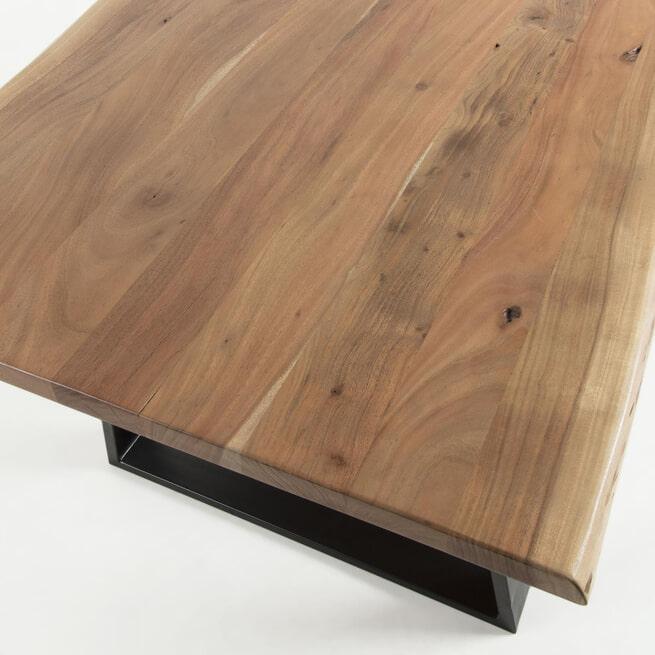 Kave Home Eettafel 'Alaia' Acacia Boomstam,180 x 90cm