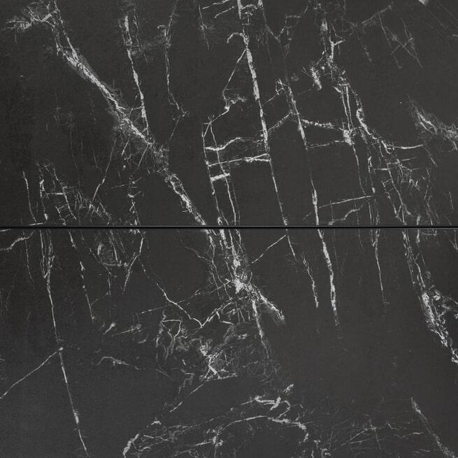 Kave Home Uitschuifbare Eettafel 'Vashti' Marmer, 120-160 x 120cm