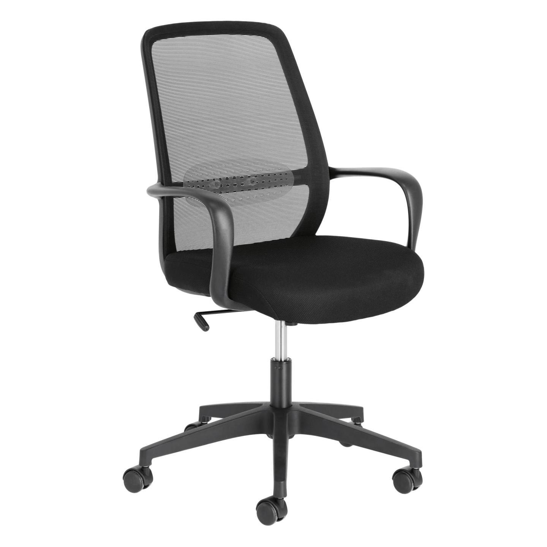 Kave Home Bureaustoel 'Melva', kleur Zwart