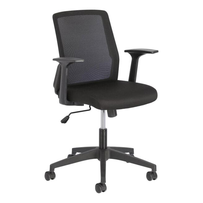 Kave Home Bureaustoel 'Nasia' kleur Zwart