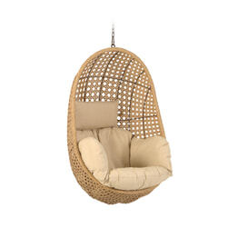 Kave Home Hangstoel Cira', kleur Naturel