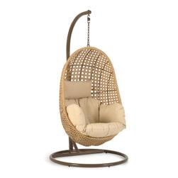 Kave Home Hangstoel met standaard 'Cira'