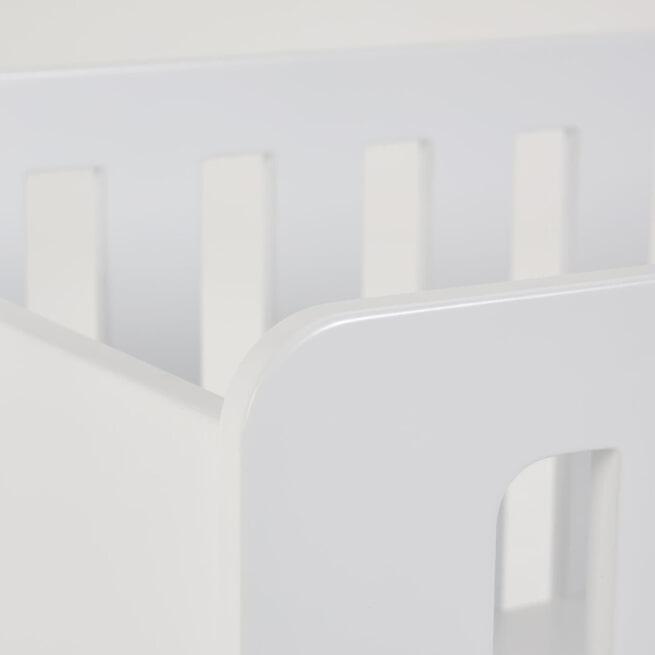Kave Home Wieg 'Luna', 60 x 120cm, kleur Wit