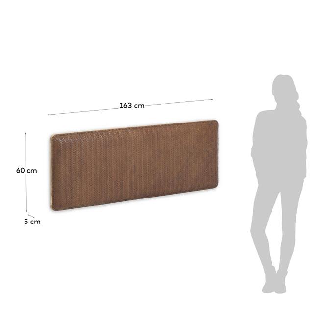 Kave Home Hoofdbord 'Natesa' 163 x 60cm