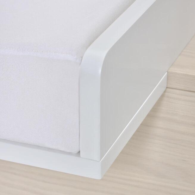 Kave Home Verschoonmatje 'Trix', 50 x 70cm, kleur Wit