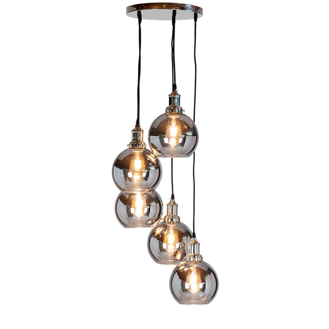 Richmond Hanglamp 'Camdon' 5-lamps