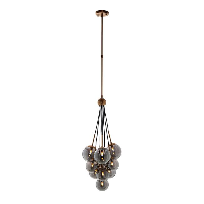 Richmond Hanglamp 'Beryl' met 9 glazen bollen